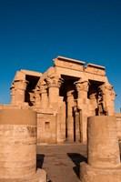 Egypt, Kom Ombo, Temple of Kom Ombo Fine-Art Print
