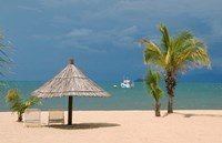 Africa; Malawi; Mangochi; Lake Malawi; Resort Makakola Fine-Art Print