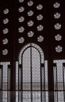Archway in Al-Hassan II mosque, Casablanca, Morocco Fine-Art Print