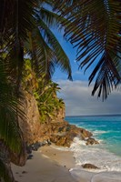 Anse Beach on Fregate Island, Seychelles, Africa Fine-Art Print
