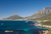 Camps Bay and Clifton area, view of the backside of Lion's Head, Cape Town, South Africa Fine-Art Print