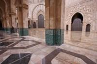 Al-Hassan II mosque, Casablanca, Morocco Fine-Art Print