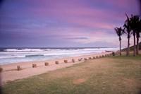 Beaches at Ansteys Beach, Durban, South Africa Fine-Art Print