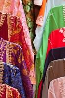 Caftan Textiles, Fes Medina, Morocco Fine-Art Print