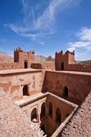 Deserted kasbah on the Road of a Thousand Kasbahs, Tenirhir, Morocco Fine-Art Print