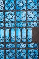 Door detail, Rabat medina, Morocco Fine-Art Print