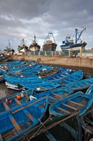 Fishing boats, Essaouira, Morocco Fine-Art Print