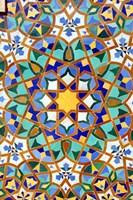 Hassan II Mosque Mosaic Detail, Casablanca, Morocco Fine-Art Print