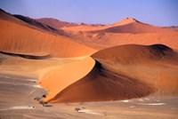 Aerial Scenic, Sossuvlei Dunes, Namibia Fine-Art Print