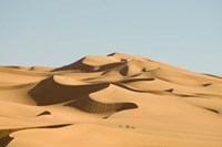 Erg Awbari, Sahara desert, Fezzan, Libya Fine-Art Print