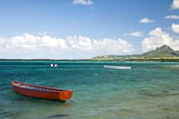 Fishing Boat, Trou D'Eau Douce, Mauritius Fine-Art Print