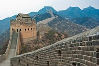 China, Hebei, Luanping, Chengde. Great Wall of China Fine-Art Print
