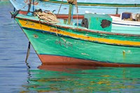 Fishing boats in the Harbor of Alexandria, Egypt Fine-Art Print