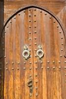 Door in the Souk, Marrakech, Morocco, North Africa Fine-Art Print