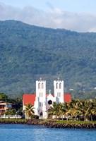 Catholic Church, Apia, Upolo Island, Western Samoa Fine-Art Print