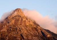 Africa; Malawi; Mt Mulanje; Thuchila; View of rock peak Fine-Art Print