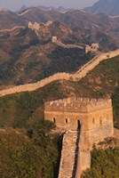 Great Wall at Sunset, Jinshanling, China Fine-Art Print