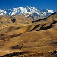 Afghanistan, Bamian Valley, Hindu Kush Mountains Fine-Art Print