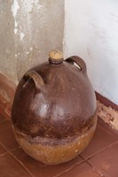 Africa, Mozambique, Island. Earthenware pot at Governors Palace. Fine-Art Print