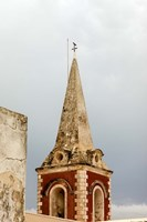 Africa, Mozambique, Island. Steeple at the Governors Palace chapel. Fine-Art Print