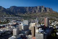 Cape Town CBD and Table Mountain, Cape Town, South Africa Fine-Art Print