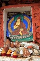 Clay Stupas, Paro, Bhutan Fine-Art Print