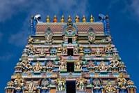 Hindu Temple, Victoria, Mahe Island, Seychelles Fine-Art Print