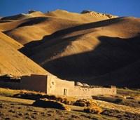Afghanistan, Bamian Valley, Caravansary, Hindu Kush Fine-Art Print