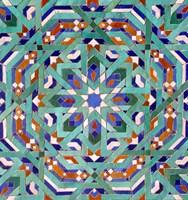 Hassan II Mosque Mosaic, Casablanca Fine-Art Print