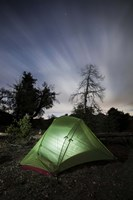 Camping under the clouds and stars in Cleveland National Forest, California Fine-Art Print