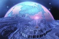 Colony on Alien Moon Fine-Art Print