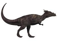 Dracorex, a herbivorous dinosaur from the Cretaceous period Fine-Art Print