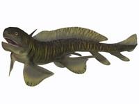 Xenacanthus, a Devonian freshwater shark Fine-Art Print