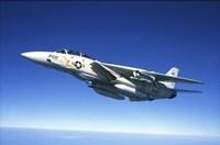 US Navy F-14A Tomcat in flight Fine-Art Print