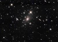 Abell 2666 Galaxy cluster Fine-Art Print