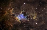 Bubble nebula Fine-Art Print