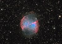 M27 the Dumbbell nebula Fine-Art Print