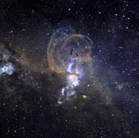 Loops of NGC 3576 Fine-Art Print