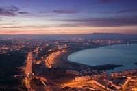 MOROCCO, AGADIR, Boulevard Mohammed V, Coastline Fine-Art Print