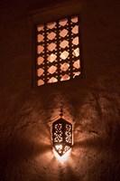 Lantern Light, Kasbah Ait Ben Moro, Morocco Fine-Art Print