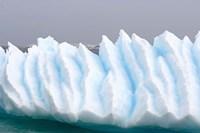 Iceberg pattern off the western Antarctic peninsula Fine-Art Print