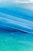 Iceberg layers, South Orkney Islands, Antarctica Fine-Art Print