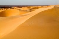 Mauritania, Adrar, Amatlich, View of the desert Fine-Art Print