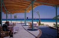 Hotel Coral Hilton Restaurant on the Red Sea, Egypt Fine-Art Print