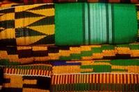 Kente Cloth, Artist Alliance Gallery, Accra, Ghana Fine-Art Print