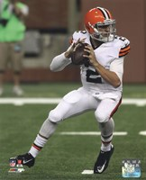 Johnny Manziel 2014 with the ball Fine-Art Print