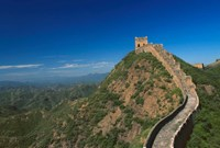 Landscape of Great Wall, Jinshanling, China Fine-Art Print