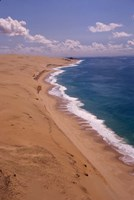 Mozambique, Bazaruto, Benguerra Island, Coastline Fine-Art Print
