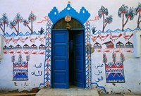 Nubian Village Restaurant Across the Nile from Luxor, Egypt Fine-Art Print