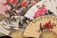Paper fans, Fuli Village paper fan workshops, Yangshuo, China Fine-Art Print
